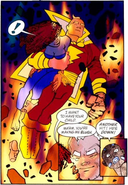 Frank Miller's future Captain Marvel