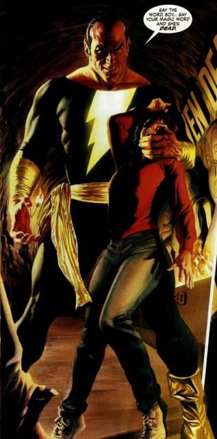 Black Adam in Justice
