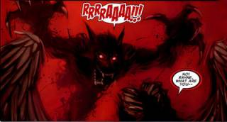 Wolfsbane attacking Angel!