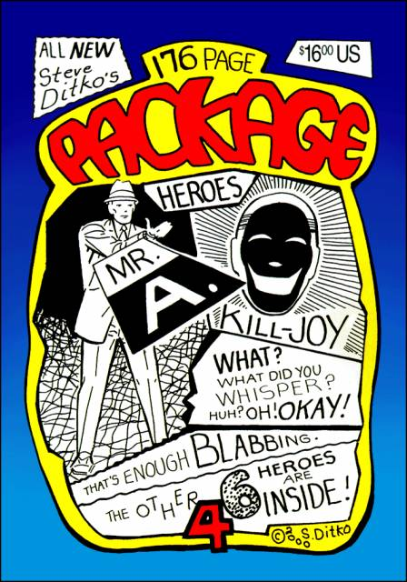 All New Steve Ditko's 176 Page Package: Heroes