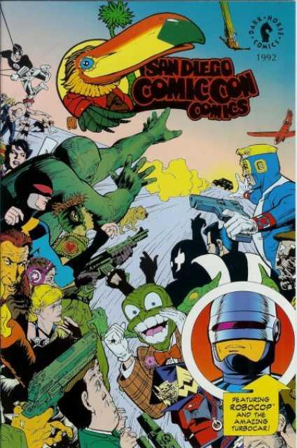 San Diego Comic Con Comics