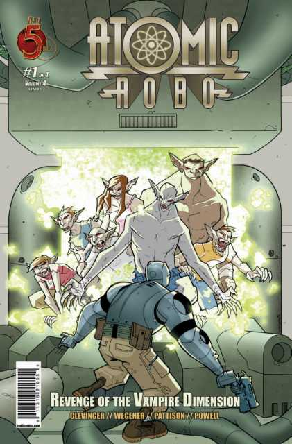 Atomic Robo and the Revenge of the Vampire Dimension