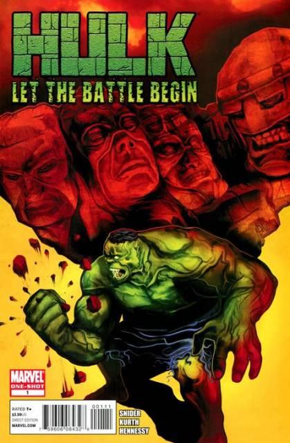 Hulk: Let The Battle Begin