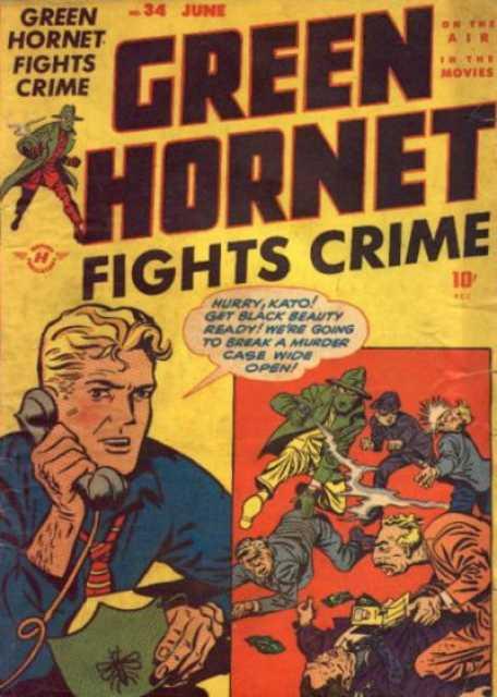 Green Hornet Fights Crime