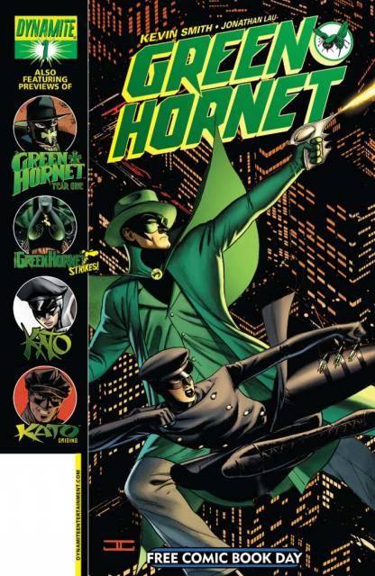 Green Hornet #1 Free Comic Book Day Edition