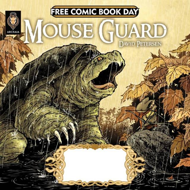 Mouse Guard Spring 1153 / Fraggle Rock. Free Comic Book Day