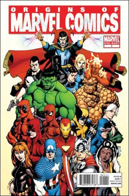 Origins of Marvel Comics
