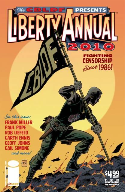 CBLDF Presents Liberty Annual 2010