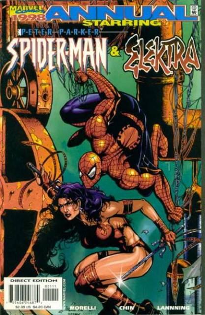 Peter Parker: Spider-Man / Elektra '98