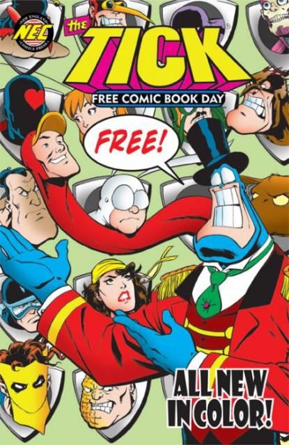 Tick: Free Comic Book Day 2011
