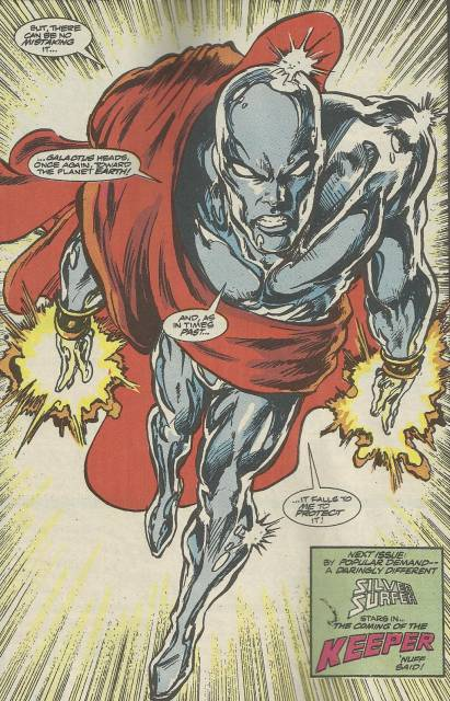 Silver Surfer - Protector of the Universe
