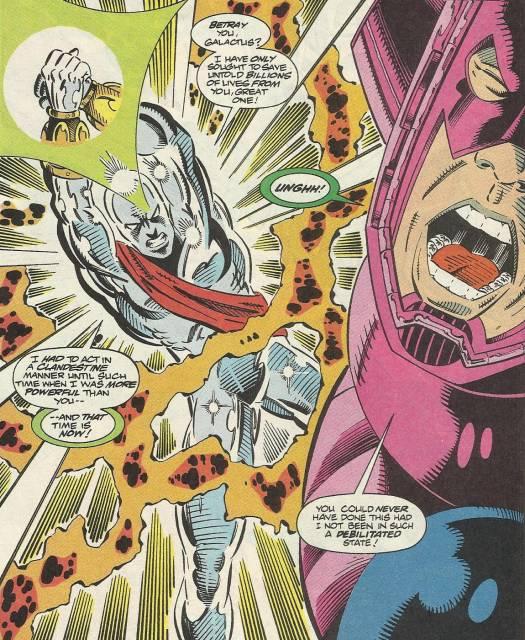 The Keeper vs Galactus