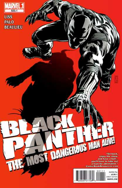 Black Panther: The Most Dangerous Man Alive