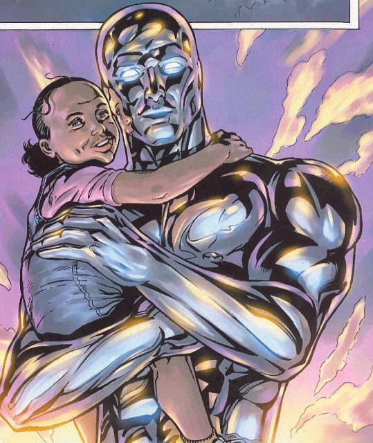 Ellie Waters and Silver Surfer