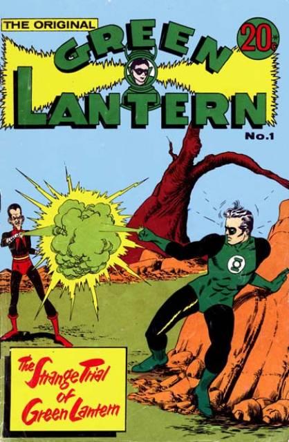 The Original Green Lantern