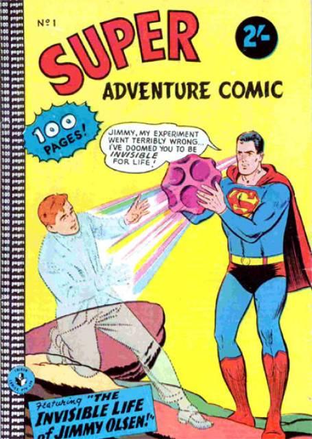 Super Adventure Comic