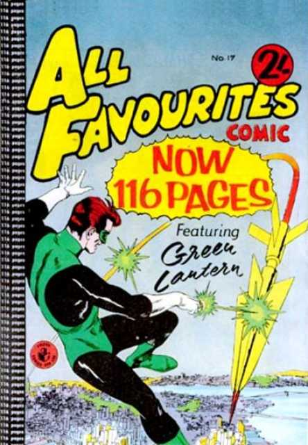 All Favourites Comic