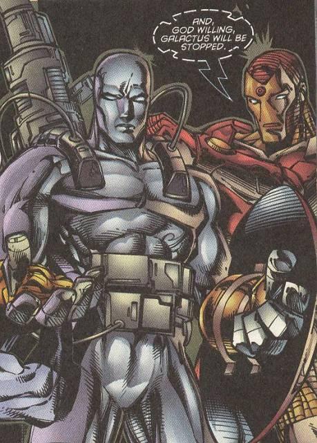 Geared Up to Take on Galactus