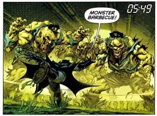 Brother-I helps Batman (Damian Wayne)
