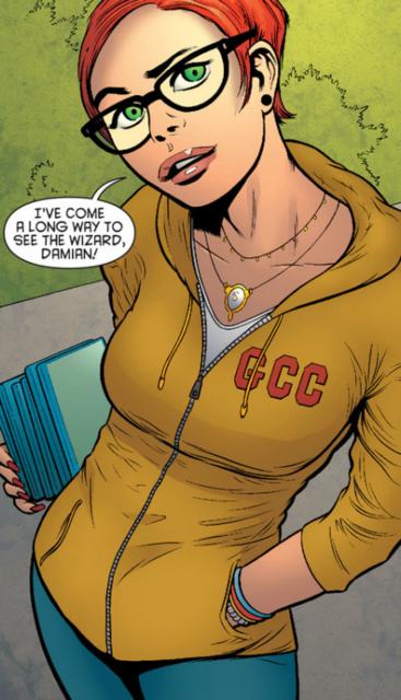 Carrie meets Bruce Wayne