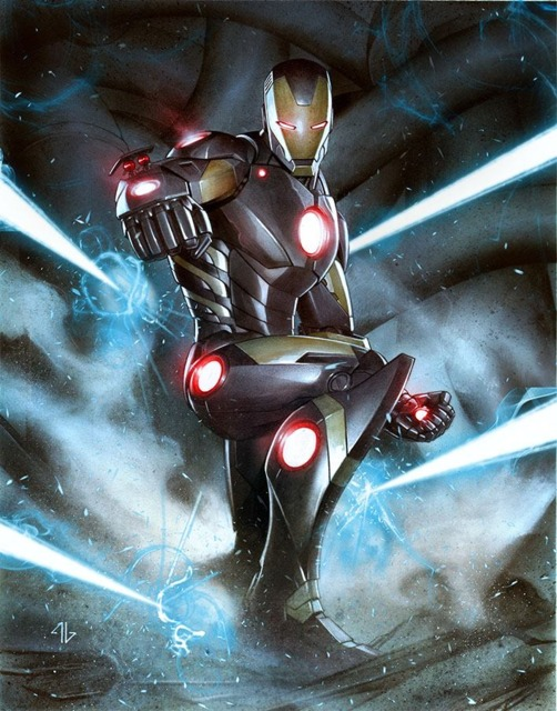 The Marvel NOW! suit