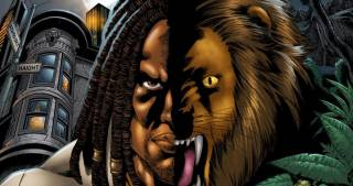 Drew- Lion Protector of Jamaica