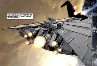 Pellaeon-class Star Destroyer Dauntless over Munto Codru (c. 137 ABY)