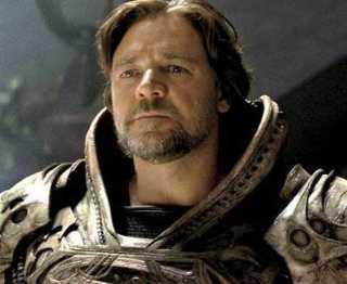 Jor-El in... battle armor? .... 'kay...