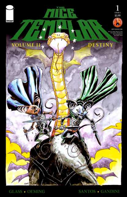 The Mice Templar, Volume II: Destiny