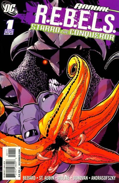 R.E.B.E.L.S. Annual: Starro The Conqueror