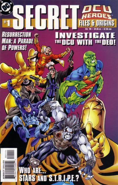 DCU Heroes Secret Files