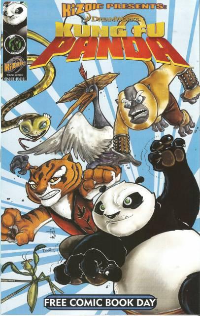 Kung Fu Panda/Richie Rich - Free Comic Book Day