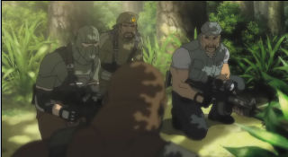 Beachhead with Stalker and Gung-Ho in G.I Joe: Resolute.