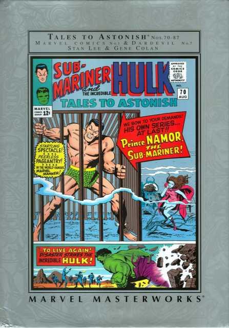 Marvel Masterworks: The Sub-Mariner