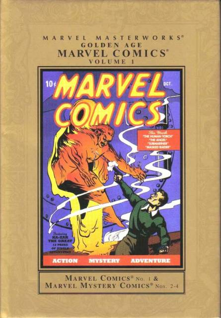Marvel Masterworks: Golden Age Marvel Comics