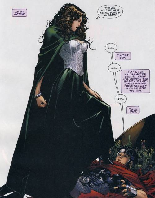 Scarlet Witch - ready to marry Doom?