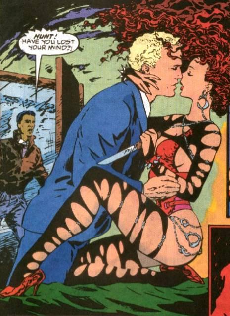 Typhoid seduces Dr Hunt