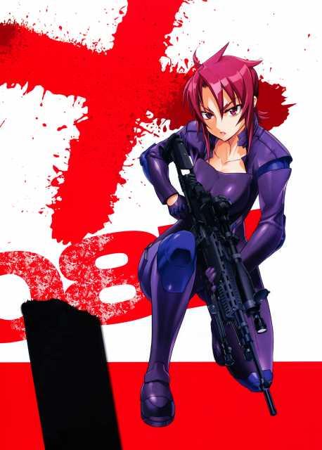 Miki in battle gear