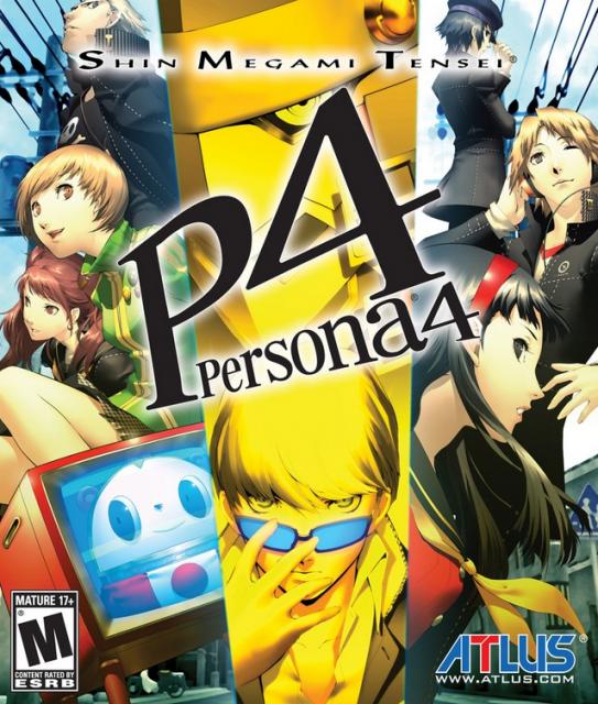 Persona 4 PS2 (Jul 2008)