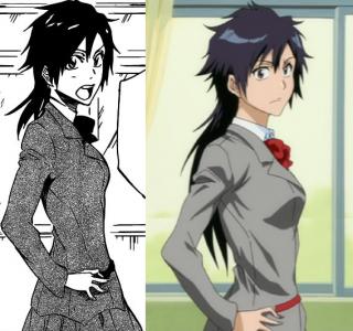 Tatsuki Arisawa manga to anime comparison