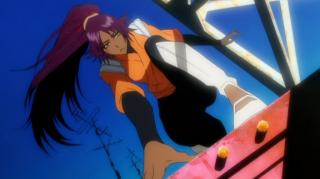 Yoruichi Shihoin in BLEACH anime