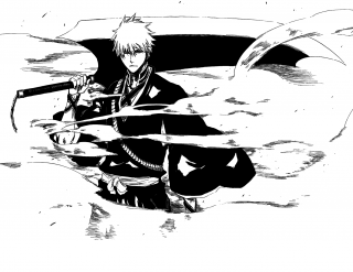 Zangetsu's second shikai form
