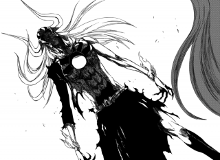 Ichigo's Hollowfication Resurrección form