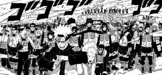 Shinobi Alliances comes to help Naruto