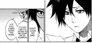 Shunsui's words to Tatsuki