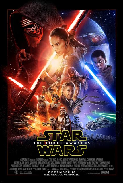 Star Wars: The Force Awakens (Dec 2015)