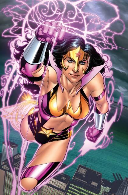 Wonder Woman As A Star Sapphire