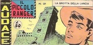 Collana Audace - Il Piccolo Ranger - 7a. Serie