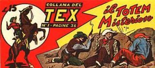 Collana del Tex I Serie
