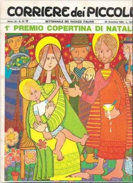 Immagini Di Copertina Di Natale.Corriere Dei Piccoli 196852 1 Premio Copertina Di Natale Issue
